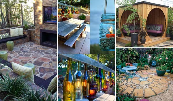 31 Insanely Cool Ideas to Upgrade Your Patio This Summer ... on Cool Backyard Patio Ideas id=36506