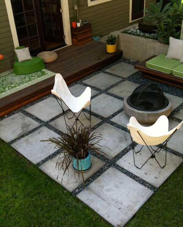 31 Insanely Cool Ideas to Upgrade Your Patio This Summer ... on Diy Backyard Patio Cheap  id=11570