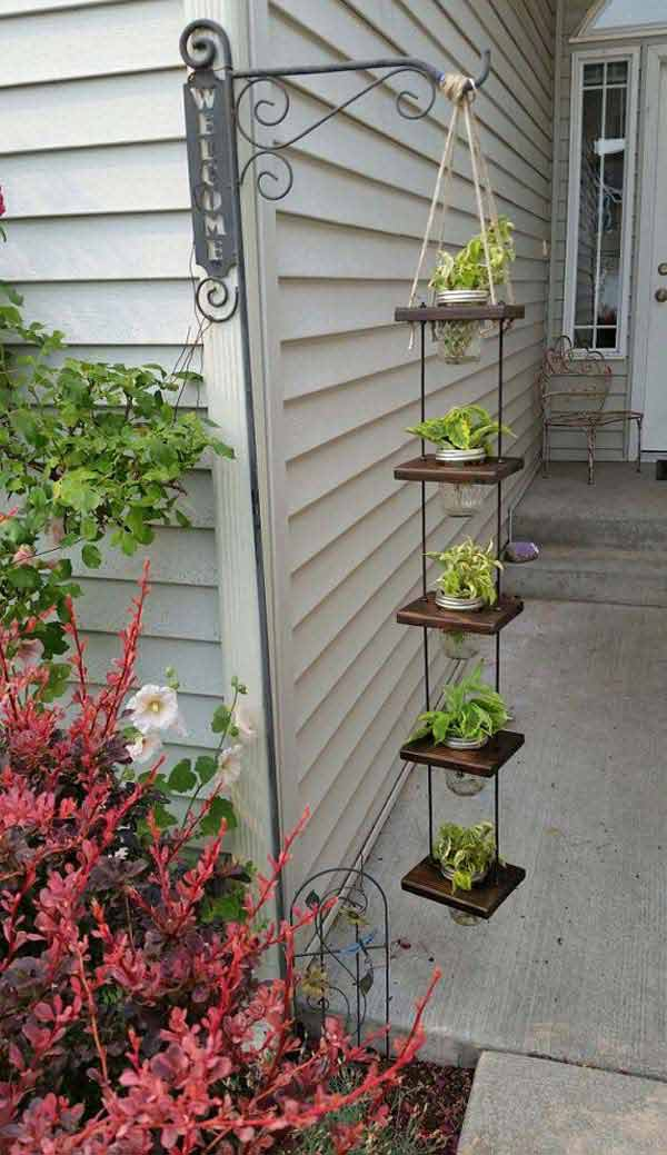 28 Adorable DIY Hanging Planter Ideas To Beautify Your ... on Picture Hanging Idea  id=64677