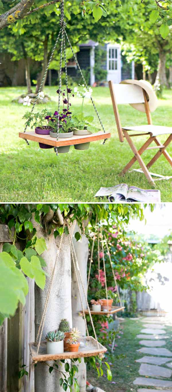 28 Adorable DIY Hanging Planter Ideas To Beautify Your ... on Picture Hanging Idea  id=58705