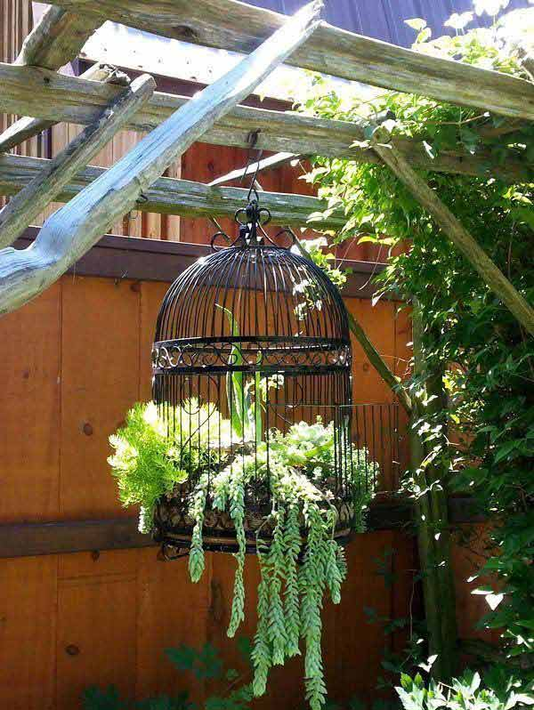 28 Adorable DIY Hanging Planter Ideas To Beautify Your ... on Plant Hanging Ideas  id=74323
