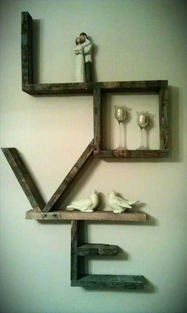 23 Recycled Pallet Wall Art Ideas for Enhancing Your ... on Pallet Design Ideas  id=73643