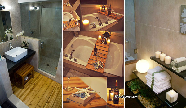 19 Affordable Decorating Ideas to Bring Spa Style to Your Small     19 Affordable Decorating Ideas to Bring Spa Style to Your Small Bathroom