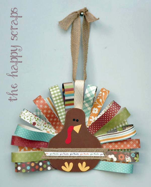 Turkey Inspired Decorations And Crafts For Thanksgiving