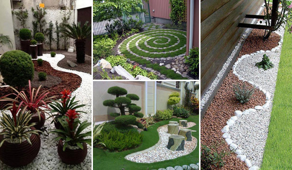 25 Cool Pebble Design Ideas for Your Courtyard - Amazing ... on Backyard Pebbles Design id=47028