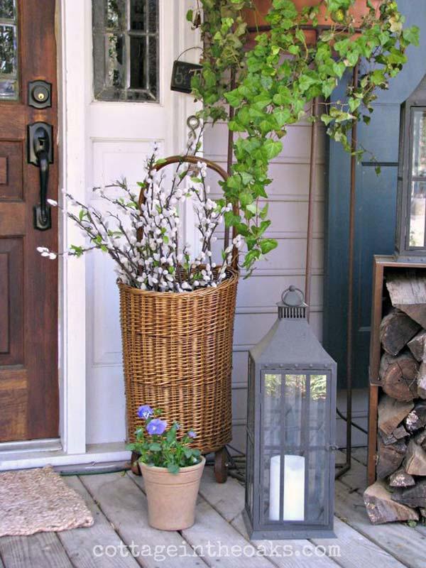 29 Cool DIY Outdoor Easter Decorating Ideas - Amazing DIY ... on Garden Decor Ideas  id=62415