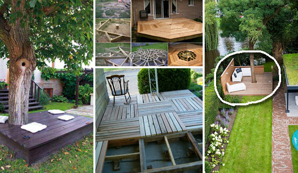 Top 19 Simple and Low-budget Ideas For Building a Floating ... on Floating Patio Ideas id=93019
