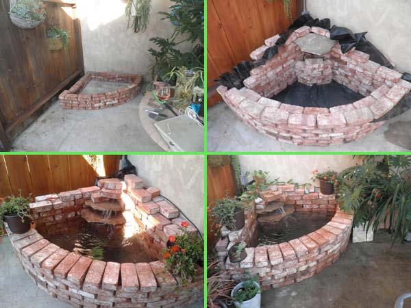 DIY Ideas For Creating Cool Garden or Yard Brick Projects ... on Brick Ideas For Backyard id=40950
