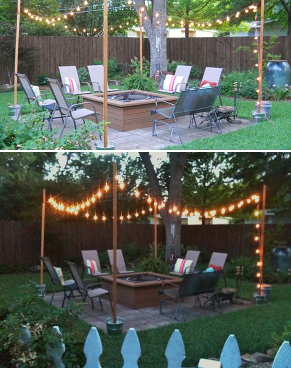 15 DIY Backyard and Patio Lighting Projects - Amazing DIY ... on Diy Backyard Remodel  id=42730