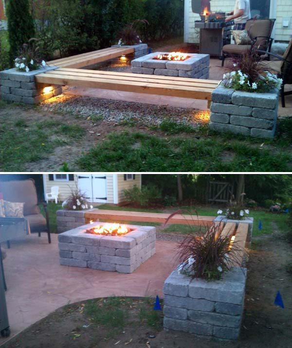 15 DIY Backyard and Patio Lighting Projects - Amazing DIY ... on Build Backyard Patio id=91844