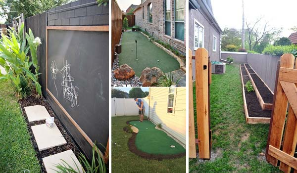 Awesome Ideas To Use Your Narrow Side Yard - Amazing DIY ... on Small Side Yard Ideas  id=60857
