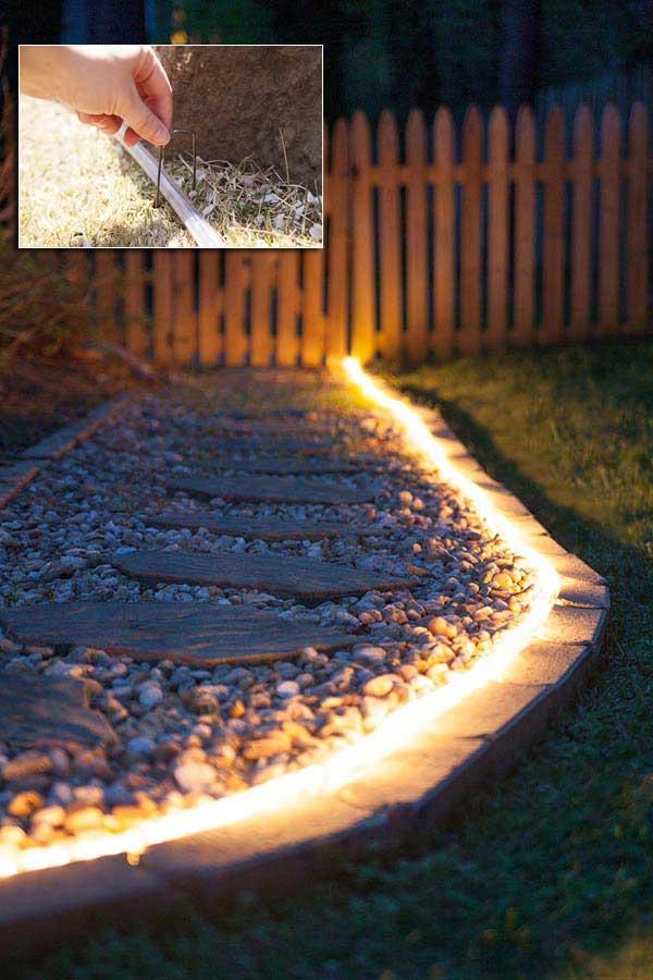 Top 28 Ideas Adding DIY Backyard Lighting for Summer ... on Backyard String Lights Diy id=88703
