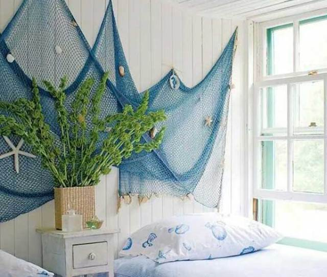Bring The Feel Of The Sea To The Kids Room By Hanging A Fishing Net Decoration