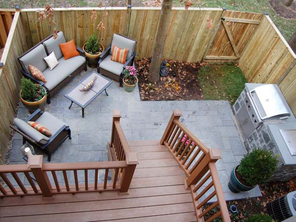 Adding a Barbecue Grill Area To Summer Yard or Patio ... on Patio Grilling Area  id=18191