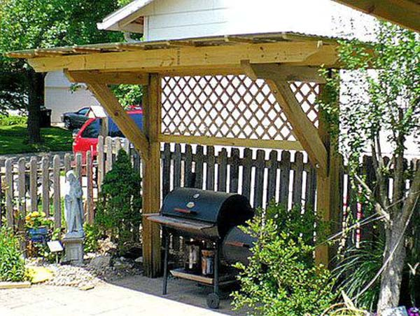Adding a Barbecue Grill Area To Summer Yard or Patio ... on Patio Grilling Area  id=12125