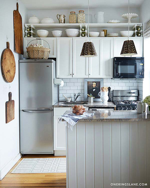 20 stylish and budget-friendly ways to decorate above kitchen
