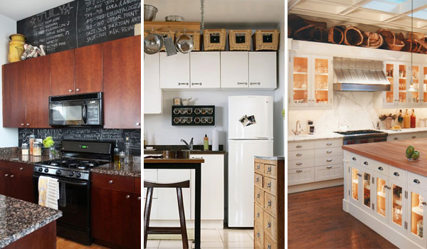 20 Stylish And Budget Friendly Ways To Decorate Above Kitchen Cabinets Amazing Diy Interior Home Design