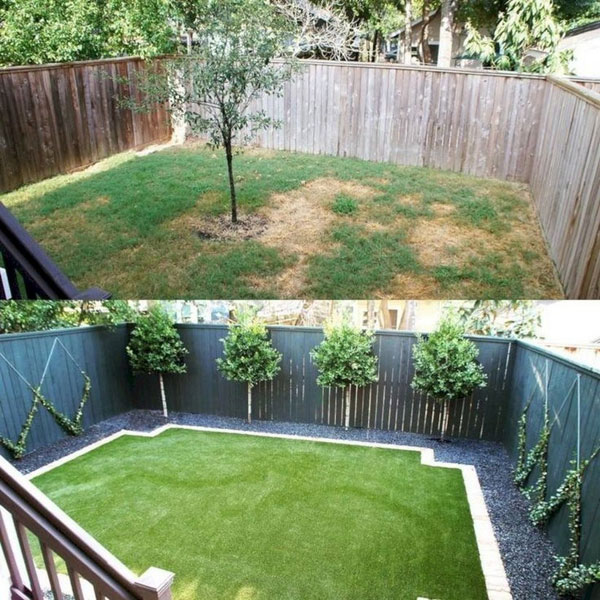 22 Amazing Backyard Landscaping Design Ideas On A Budget ... on Backyard Landscaping Ideas With Trees id=90431