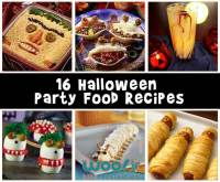 images of halloween party treats