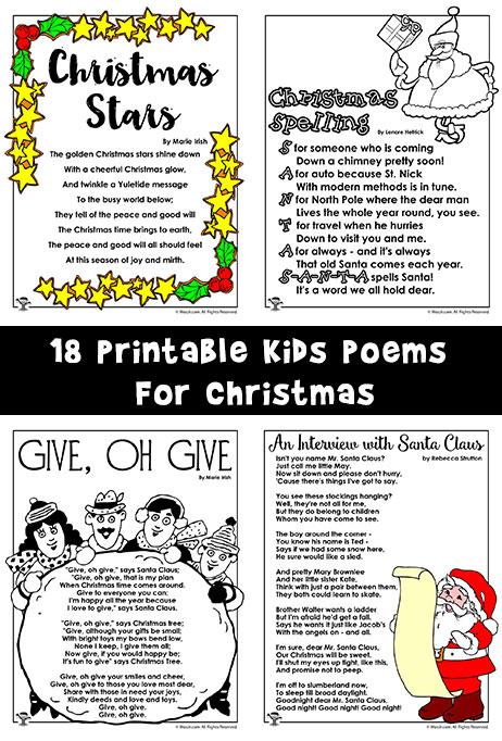 Christmas Alphabet Letters Print