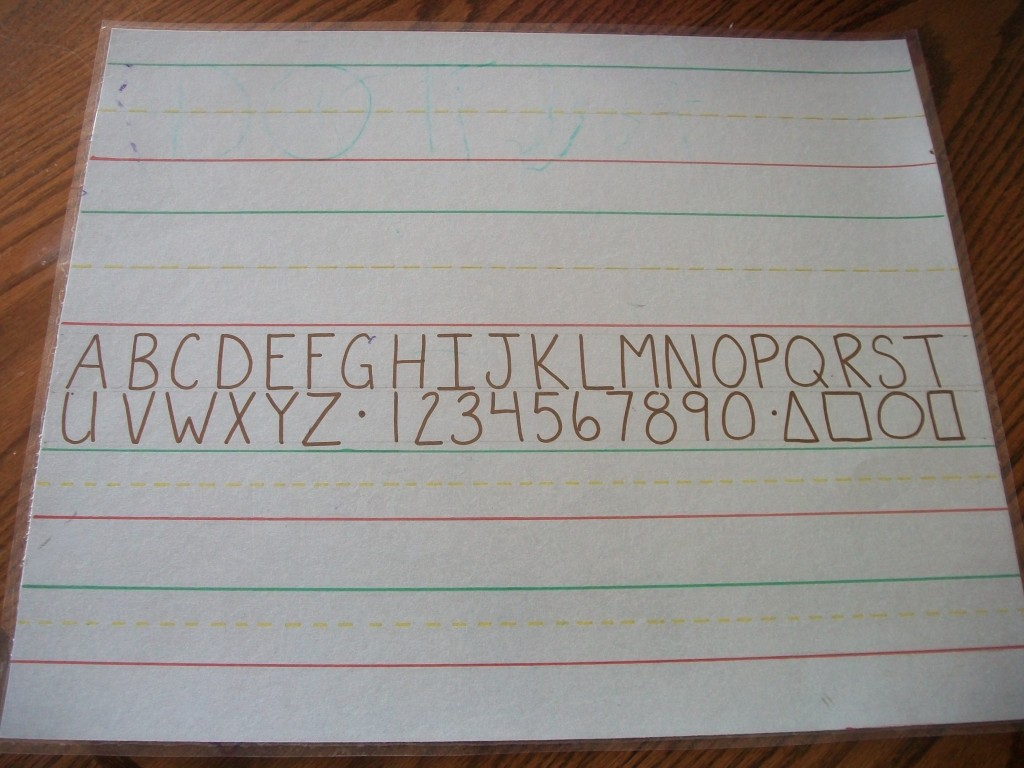 Learning To Write Craft Project