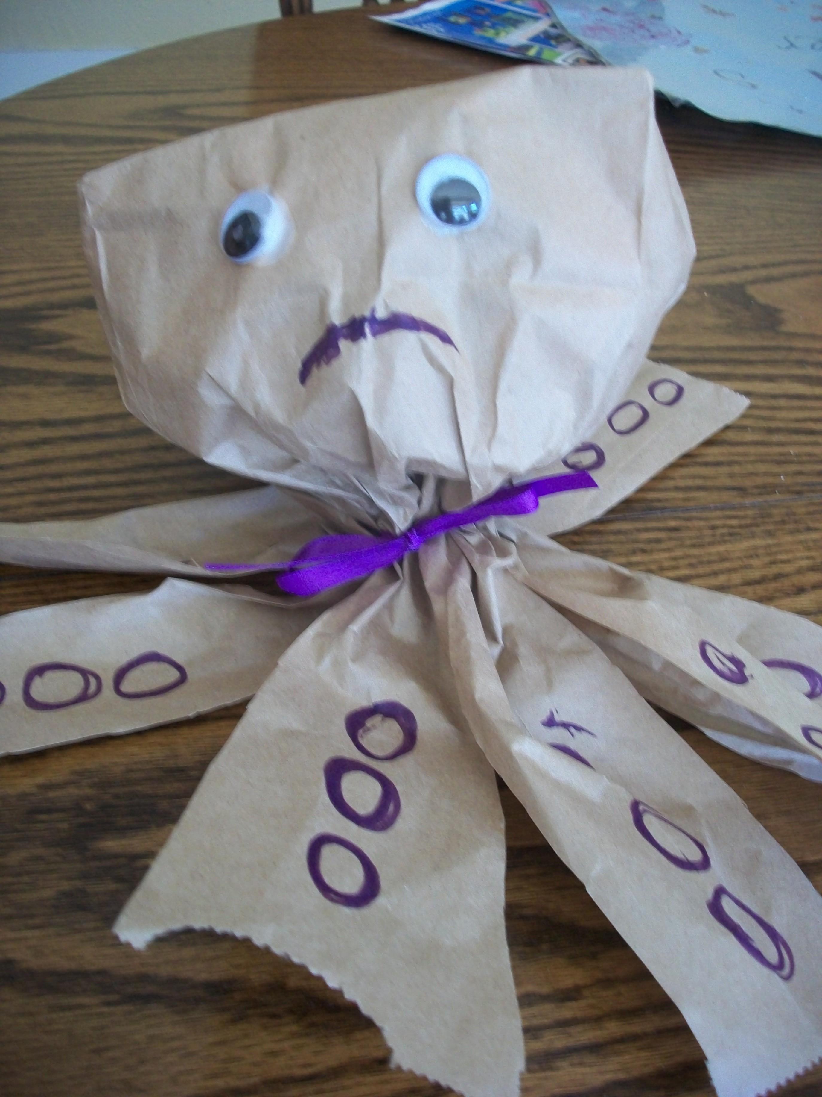 A Paper Bag Craft