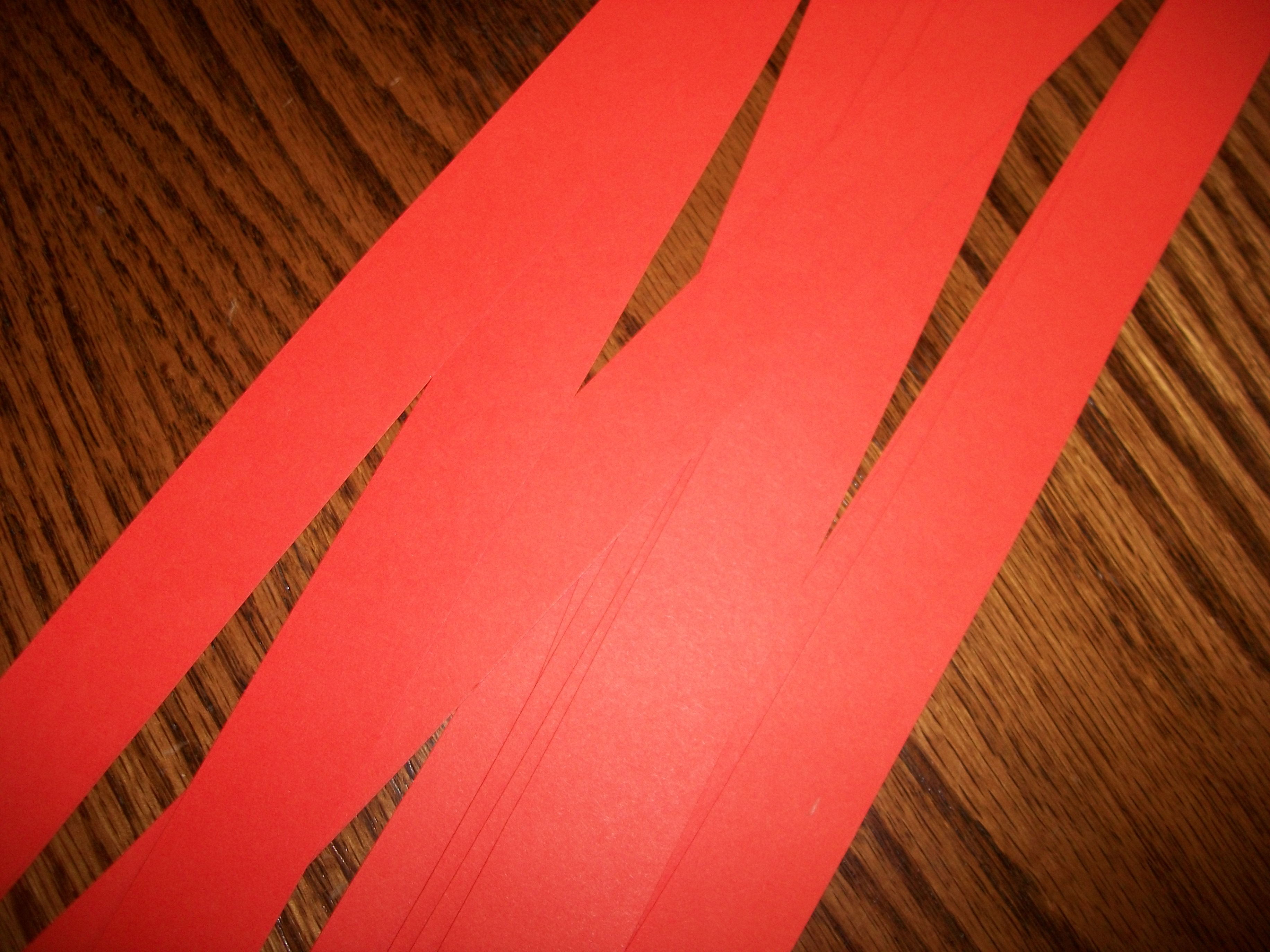 Cut Your Paper Lengthwise Into Strips The Width Is Up To