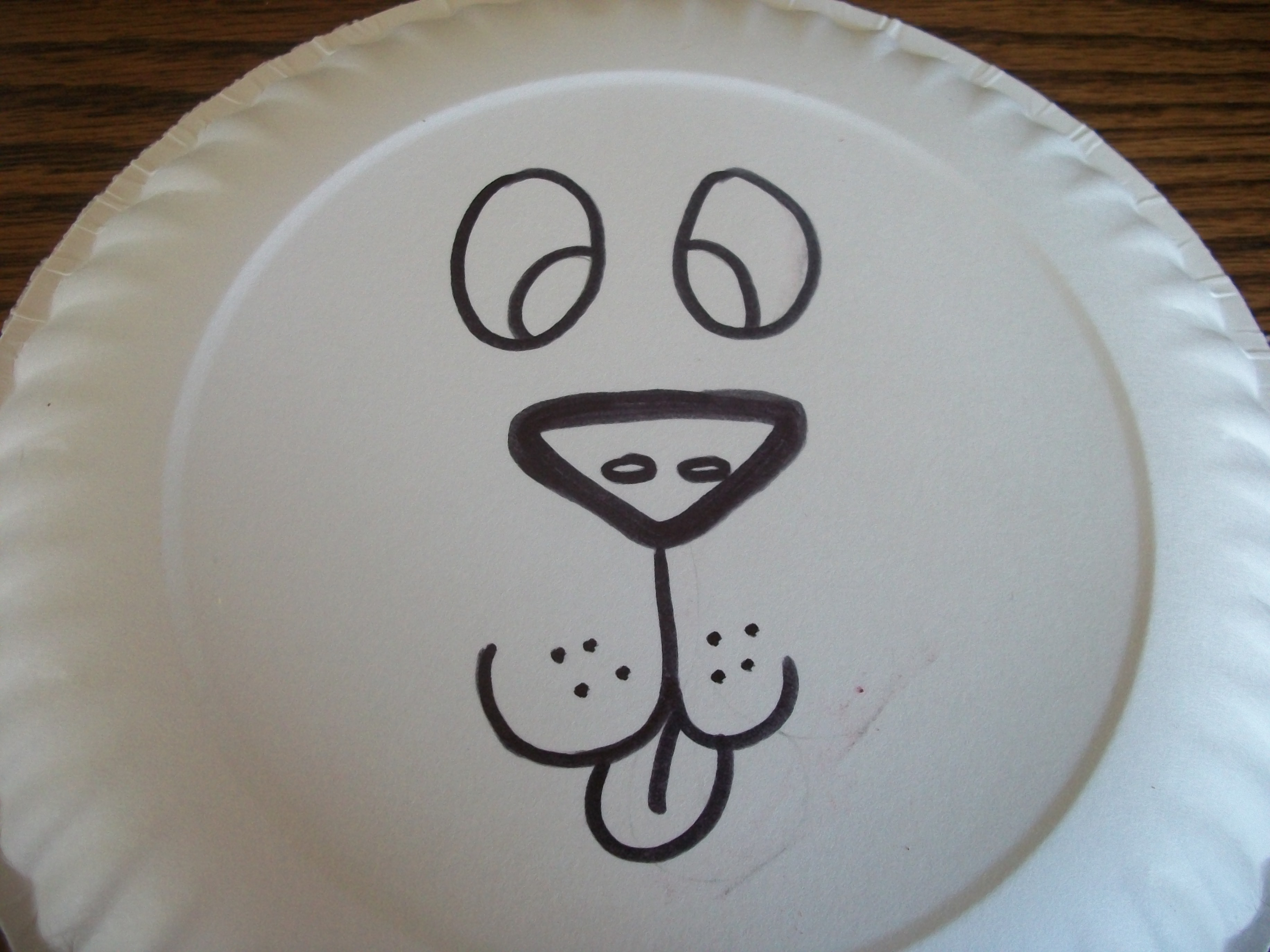 Draw A Lion S Face Onto Your Paper Plate Obviously I M