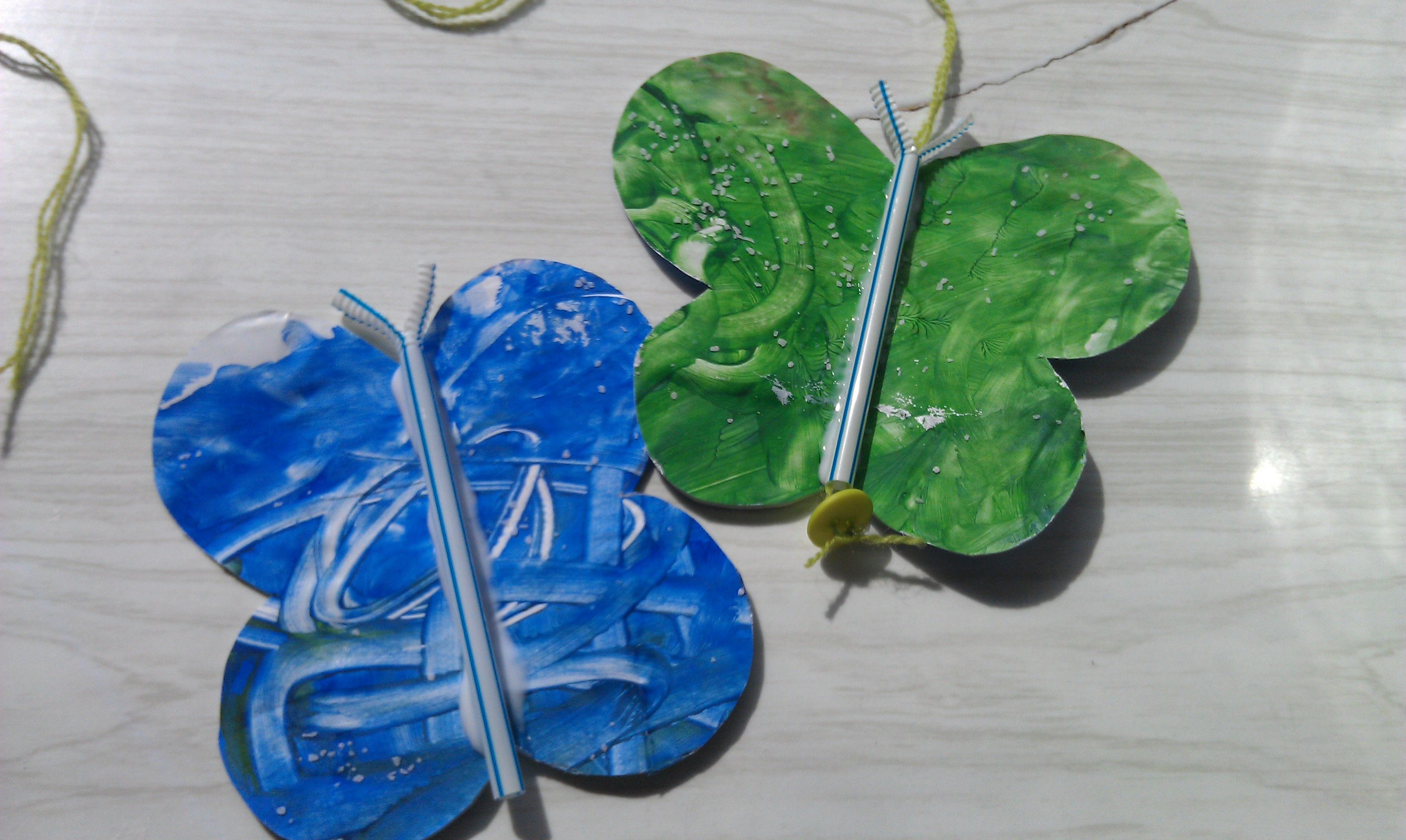 Pretty Butterfly Mobile Craft For Kids