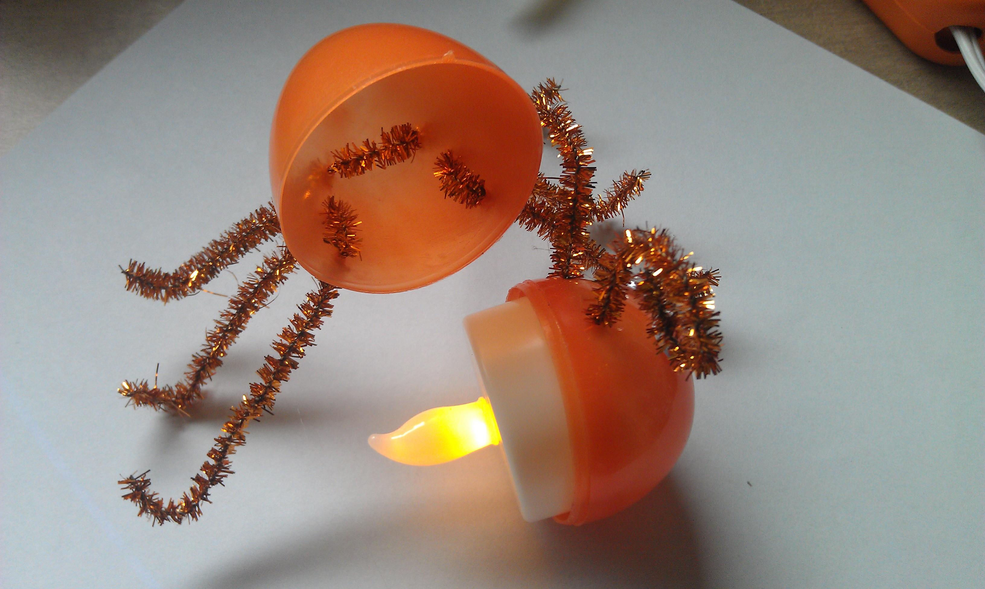 Lightning Bug Craft Tealights