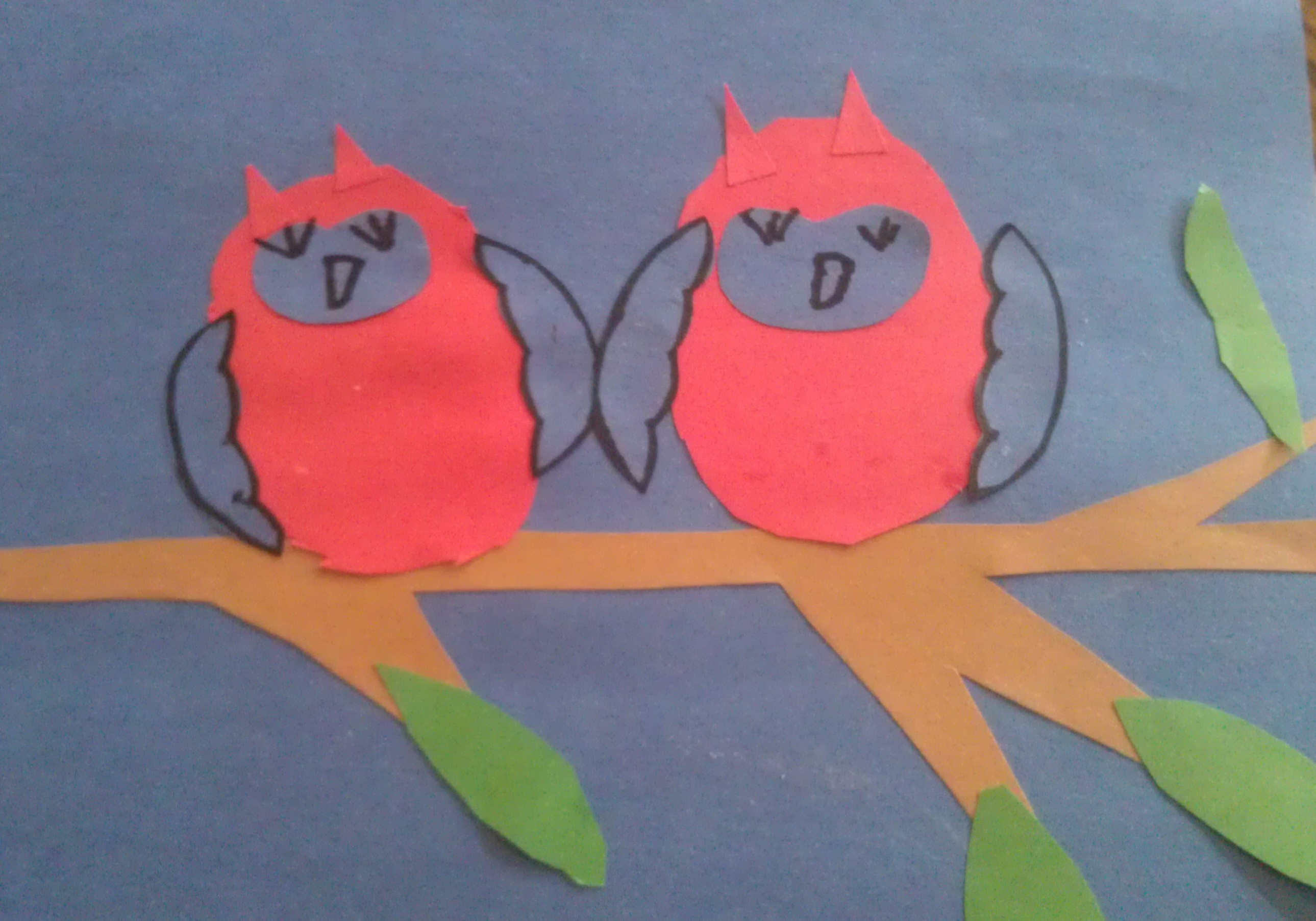 Paper Cutout Owl Craft For Kids