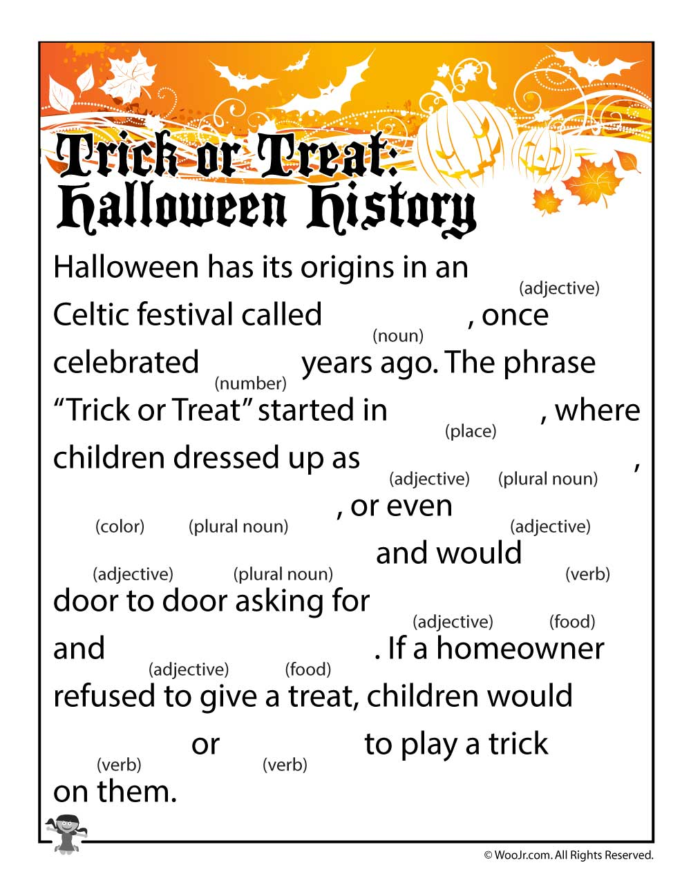 history of halloween for elementary students | cartooncreative.co