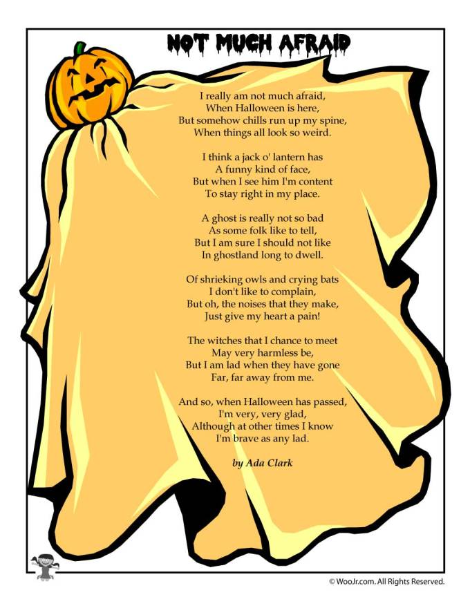 halloween poems for kids woo jr activities