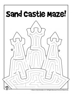 Printable Summer Mazes For Kids Woo Jr Kids Activities