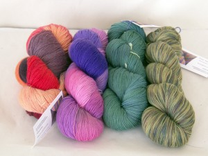 A parcel from The Yarn Yard
