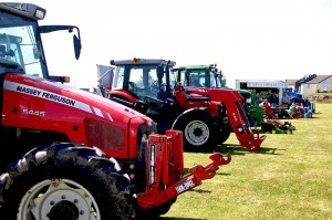 The Show is small but perfectly formed and offers everything an Agricultural Show should.