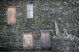 Doors and window at Scar House