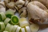 Add some leftover chicken