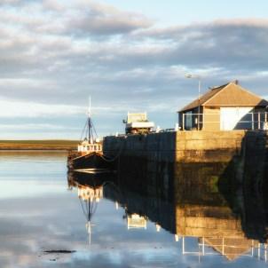 Kettletoft Harbour Reflections