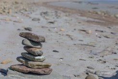 My first rock-balancing exercise