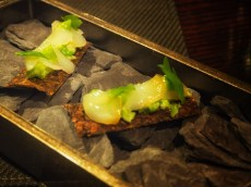 The Smoked Haddock Amuse Bouche