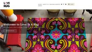 Love is a Rug Logo Identity
