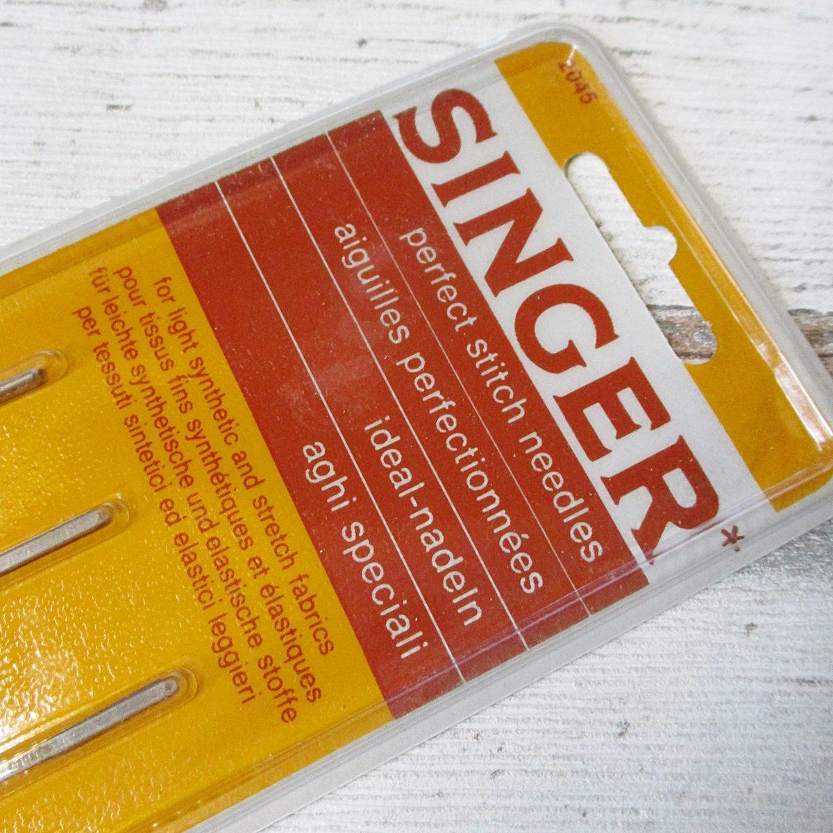 Nähmaschinennadeln Singer Stärke 80 Synthetik Stretch - Woolnerd