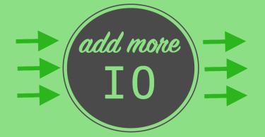 Add More IO Green Graphic