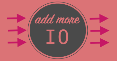 Add More IO Pink Graphic