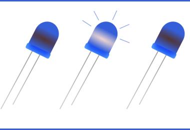 Blink Blue LEDs