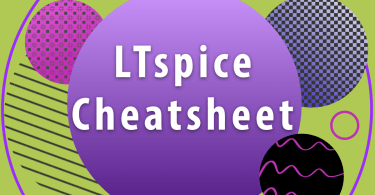 LTspice Cheatsheet Graphic
