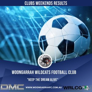 Results from Last Weekends Games