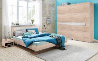 Wimex Schlafzimmer Set mit Schwebetürenschrank 4 tlg ...