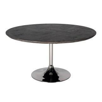 Eettafel Blackbone rond Ø140 zilver (Zilver)